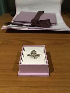 1.21CT ENGAGEMENT RING. PERFECT CONDITION. COMES WITH CERTIFICATE Melbourne CBD Melbourne City Preview
