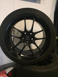 For Sale 4 ENKEI WHEEL AND TIRES