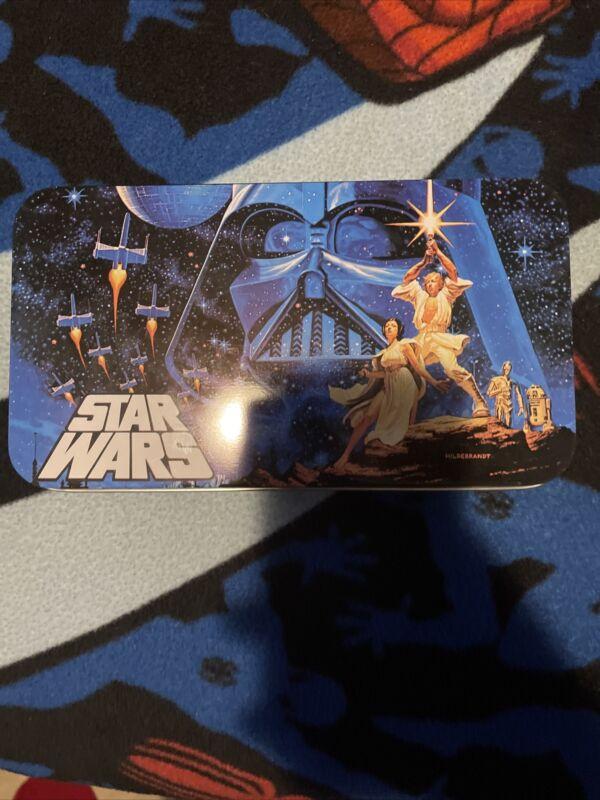 Star Wars Tin Pencil Box New