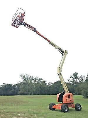 2013 Jlg 450aj Boom Lift Jib 45 Diesel Man Lift Genie 1346 Hrs Under 13k Lbs