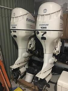 135 hp evinrude outboard motors Champion Lakes Armadale Area Preview