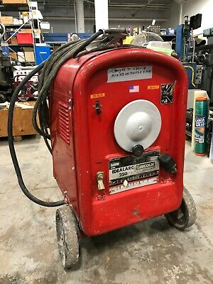 Lincoln Idealarc 250 Arc Welder Mn 250-250 Code 6933-c Sn Ac-292754