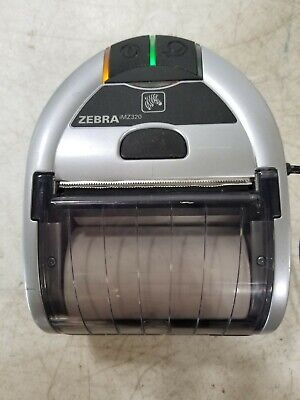 Zebra Imz320 Thermal Bluetooth Label Printer With Power Supply