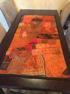 Indian patchwork wall hangings