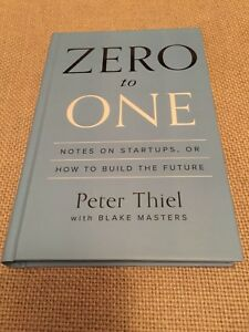Zero to One (hardcover)