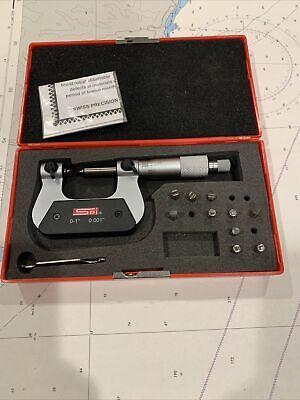 Spi Model 13-514-5 Screw Thread Micrometer
