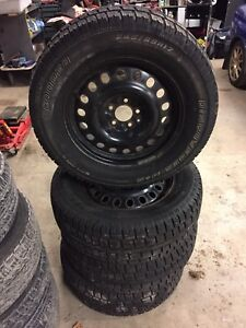 245/65-17 Cooper winter tires
