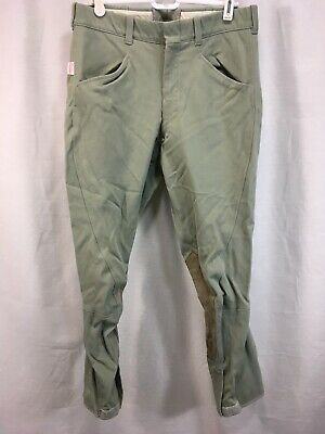 VTG The Tailored Sportsman English Riding Habits Pants Size 30 Green USA, used for sale  Windham