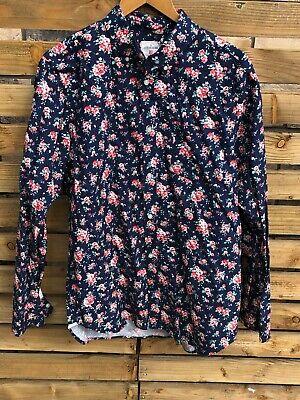 """Gap Floral single pocket Button down  shirt   XL 46"""""""