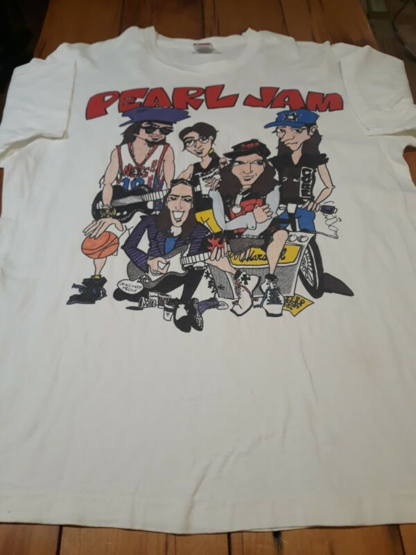 Pearl Jam 1991 (?) Master/Slave Vintage T Shirt XL EXTREMELY RARE