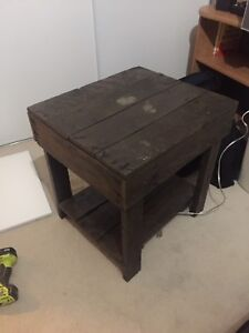 Wood coffee table / end table
