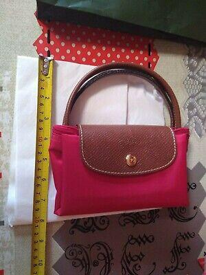 genuine Longchamp Red ladies Bag new unused unwanted gift never used