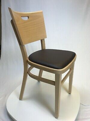 Wood Upholstered Side Chair For Restaurantbarcafehome