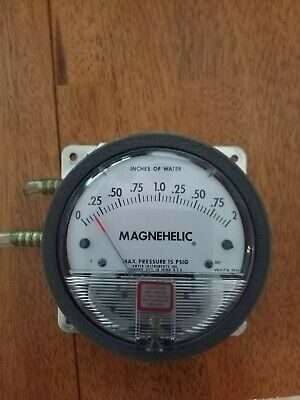 Dwyer 2002 Magnehelic Differential Pressure Gauge 0-2.0 W.c.