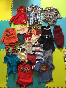Twelve to 18 months BOYS clothes
