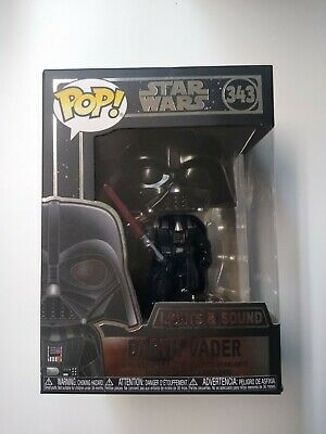 DARTH VADER Lights & Sound #343 STAR WARS Funko Pop! New In Box