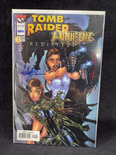 Top Cow Eidos Image Comics - Tomb Raider Witchblade Revisited #1 Michael Turner