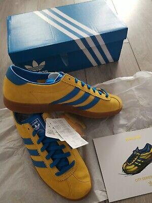 BNWT in box Adidas Malmo Size 9 not Manchester Blackburn Bern Dublin Amsterdam