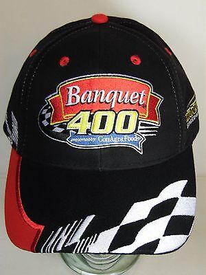 Nwot Nascar 2003 Banquet 400 Conagra Foods Kansas Speedway Advertising Hat Cap