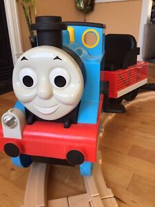 Ride-on Thomas the train (by Peg Perego)