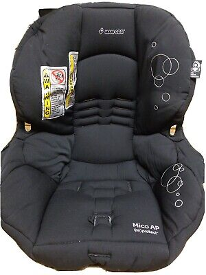 Maxi Cosi Mico AP Air Protect Car Seat Padding Cover Fabric  Replacement Black.