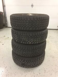 Winter tires, studded 205/55 R16