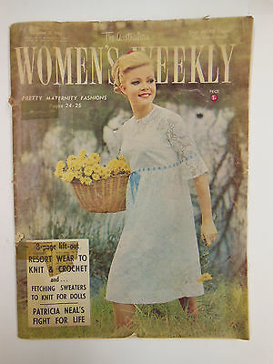 The Australian WOMEN'S WEEKLY MAGAZINE Sept. 1965 w/ great Fashion & Advertise