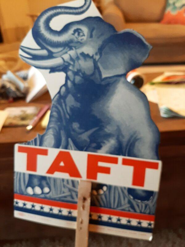 Taft Election Sign