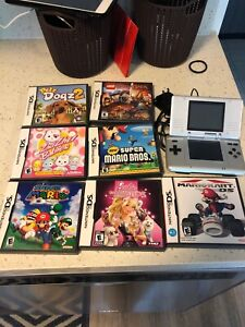 Nintendo DS with 7 games.