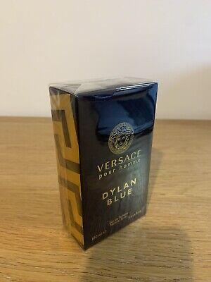 Versace 100ml Dylan Blue  Spray Eau De Toilette For Men BNIB