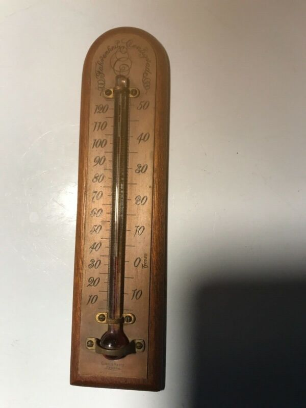 antique Short & Mason thermometer