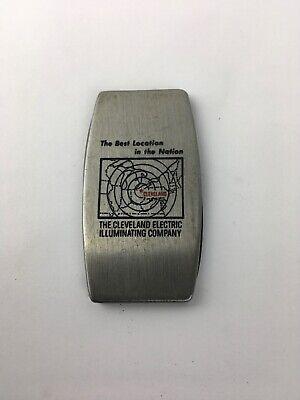 Vintage Zippo Pocket Knife And File Cleveland Electric Illuminating Best Loc