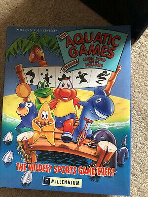 Commodore Amiga Game - James Pond - The Aquatic Games
