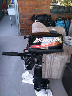 2015 4hp Mercury outboard