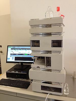 Agilent 1100 Hplc On Windows 7- Fully Tested And In Excellent Condition