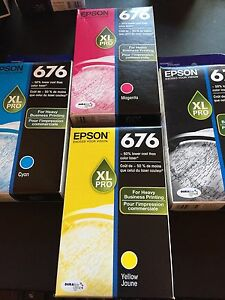 Epson 676 ink cartridges