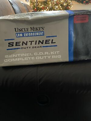 Law Enforcement Security Duty Sentinel Belt Uncle Mikes