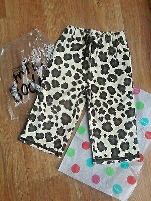 Mini boden pyjama bottoms size 18-24m girl/boy animal print so cute!  Brand new  ()