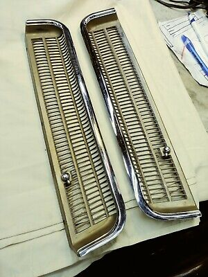 1963 1964 1965 Buick Riviera Cowl Vent Left and Right