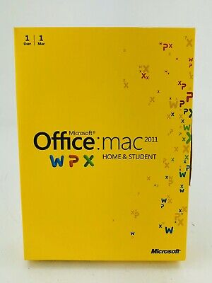 Microsoft Office 2011 Home and Student (Retail) 1 Copy - Full Version for (Office For Mac 2011 Home And Student Edition)