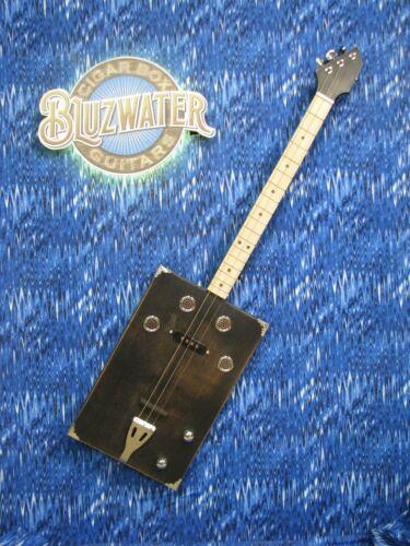 BLUZWATER BULLET 3 STRING CIGAR BOX GUITAR #190