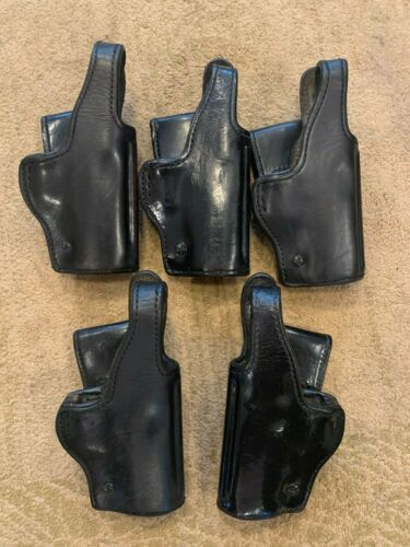 Don Hume  H738 SH NO.25USP  Black Leather Holster
