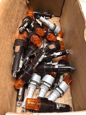 Lot Of 25 Vintage Fuse Holders Buss Fhl 18g-1 - Many Nos - Diy Builder Ham Parts
