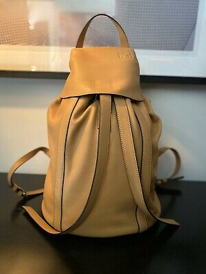 LOEWE AUTHENTIC LEATHER BACKPACK BAG RET. $3200