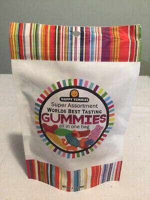 Happy Yummies Super Assortment Worlds Best Tasting Gummies 7oz Assortment