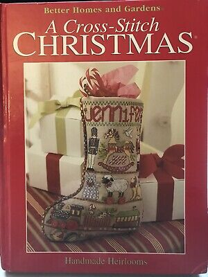 A Cross Stitch Christmas 2002 Better Homes and Gardens - Great Condition Better Homes And Gardens Cross Stitch