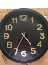 Black and Silver Clock Bulleen Manningham Area Preview