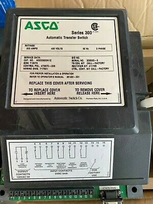 Asco Series 300 Automatic Transfer Switch Controller