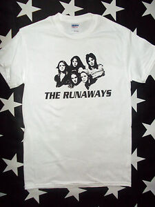 The-Runaways-glam-U-S-punk-rock-t-shirt-sizes-S-XL-Joan-Jett-Lita-Ford