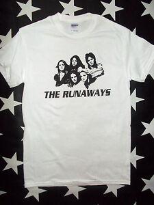 The-Runaways-glam-U-S-punk-rock-t-shirt-sizes-S-XL-Joan-Jett-Lita-Ford